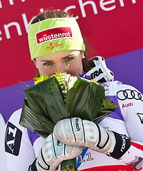 08.02.2011, Kandahar, Garmisch Partenkirchen, GER, FIS Alpin Ski WM 2011, GAP, Lady Super G, im Bild Siegerin und Weltmeisterin, Elisabeth GOERGL (AUT) // Winner and World Champion Elisabeth GOERGL (AUT)during Women Super G, Fis Alpine Ski World Championships in Garmisch Partenkirchen, Germany on 8/2/2011, 2011, EXPA Pictures © 2011, PhotoCredit: EXPA/ J. Feichter