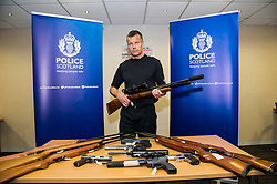 Pictured: Assistant Chief Constable Mark Williams <br /> Assistant Chief Constable Mark Williams today unveiled details of the three-week drive along with the designated stations where unwanted weapons can be handed in for secure disposal. <br /> <br /> Ger Harley   EEm 19 May  2016
