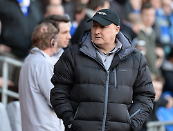Cardiff City Manager, Russell Slade - Photo mandatory by-line: Alex James/JMP - Mobile: 07966 386802 - 24/01/2015 - SPORT - Football - Cardiff - Cardiff City Stadium - Cardiff City v Reading - FA Cup Fourth Round