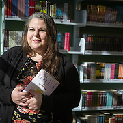 Amy Trulock, Librarian at Los Padrinos Juvenile Detention Center in Downey, California.