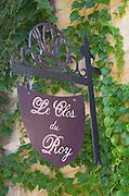 Restaurant Le Clos du Roy. The town. Saint Emilion, Bordeaux, France