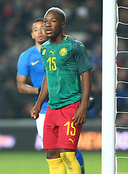 November 20, 2018 - Milton Keynes, United Kingdom - Jeando Fuchs of Cameroon .during Chevrolet Brazil Global Tour International Friendly between Brazil and Cameroon at Stadiummk stadium , MK Dons Football Club, England on 20 Nov 2018.. Editorial use ONLY. No print sales. No personal use sales. NO UNPAID USE. (Credit Image: © Action Foto Sport/NurPhoto via ZUMA Press)