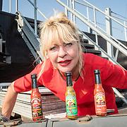 NLD/Amsterdam/20160915 - Presentatie Manuale's Hot Sauces van Manuela Kemp, Manuela Kemp