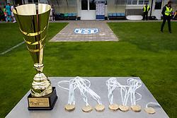 Trophies for League winner after football match between ZNK Pomurje and ZNK Olimpija in 21st Round of Slovenska zenska nogometna liga 2020/21, on 22 of May, 2021 in TSC Trate, Gornja Radgona, Slovenia. Photo by Blaž Weindorfer / Sportida