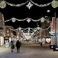 Markens en julenatt i Kristiansand.