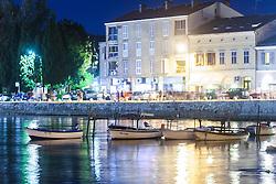 THEMENBILD - URLAUB IN KROATIEN, kleine Fischerboote vor der Strandpromenade, aufgenommen am 03.07.2014 in Porec, Kroatien // small fishing boats in front the beach promenade at Porec, Croatia on 2014/07/03. EXPA Pictures © 2014, PhotoCredit: EXPA/ JFK