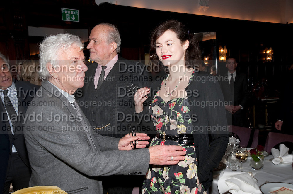 NICKY HASLAM; JASMINE GUINNESS, Graydon and Anna Carter host a lunch for Carolina Herrera to celebrate the ipening of her new shop on Mount St. .The Connaught. London. 20 January 2010