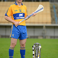 12 September 2012; Bord Gáis Energy Ambassadors Conor McGrath, of Clare, was in Thurles today ahead of Saturday's Bord Gáis Energy GAA Hurling U-21 All-Ireland Final which will be played in Semple Stadium, Thurles. Clare play Kilkenny at 7pm in a repeat of the 2009 Final. The game is preceded by Roscommon against Kildare in the 'B' Final, which throws in at 5pm. Both games will be live on TG4. Semple Stadium, Thurles, Co. Tipperary. Picture credit: Matt Browne / SPORTSFILE *** NO REPRODUCTION FEE ***