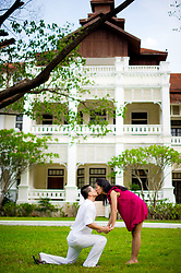 Chiang Mai Thailand - Felix and Freyja's prewedding (prenuptial, engagement session) at The Dhara Dhevi Chiang Mai (Mandarin Oriental Dhara Dhevi) in Chiang Mai, Thailand.<br /> <br /> Photo by NET-Photography<br /> Chiang Mai Thailand Wedding Photographer<br /> info@net-photography.com<br /> <br /> View this album on our website at http://thailand-wedding-photographer.com/chiang-mai-pre-wedding-2/?utm_source=photoshelter&utm_medium=link&utm_campaign=photoshelter_photo