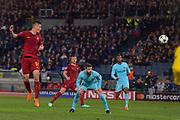 Foto Fabio Rossi/AS Roma/ LaPresse<br /> 10/4/2018 Roma (Italia)<br /> Sport Calcio<br /> Roma-FC Barcellona<br /> UEFA Champions League 2017/2018 - Stadio Olimpico di Roma<br /> Nella foto: Patrik Schick<br /> <br /> Photo  Fabio Rossi/AS Roma/ LaPresse<br /> 10/4/2018 Rome (Italy)<br /> Sport Football<br /> Roma-FC Barcelona<br /> UEFA Champions League  2017/2018 - Stadio Olimpico di Roma<br /> In the pic: Patrik Schick