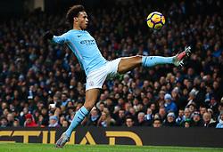 Leroy Sane of Manchester City - Mandatory by-line: Matt McNulty/JMP - 16/12/2017 - FOOTBALL - Etihad Stadium - Manchester, England - Manchester City v Tottenham Hotspur - Premier League