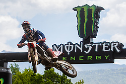 Tim Gajser #243 of Slovenia during MXGP Trentino race one, round 5 for MXGP Championship in Pietramurata, Italy on 16th of April, 2017 in Italy. Photo by Grega Valancic / Sportida