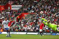 Football - International Friendly - England U21 vs. Norway U21<br /> Arild Ostbo of Norway (and Viking FK) can only watch as England's Danny Rose's shot flys past him at St Mary's Stadium Southampton