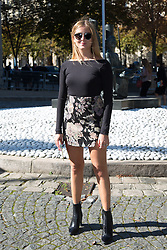 Valentina Ferragni arriving at Miu Miu fashion show during the fashion week in Paris, France on octobre 05, 2016. Photo by Nasser Berzane/ABACAPRESS.COM.