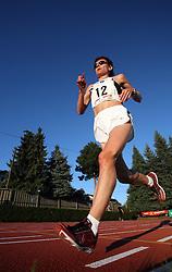 Helena Javornik at Athletic National Championship of Slovenia, on July 19, 2008, in Stadium Poljane, Maribor, Slovenia. (Photo by Vid Ponikvar / Sportal Images).