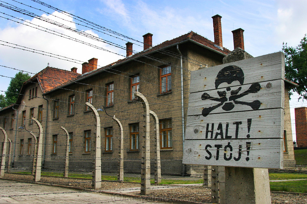 Auschwitz Death Camp, Poland.