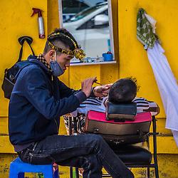 Vietnamese Outdoor Barbers