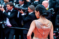 Kenza Fortas (tattoo detail) attends the opening ceremony and screening of The Dead Don't Die during the 72nd Cannes Film Festival on May 14, 2019 in Cannes, France. Photo by Ammar Abd Rabbo/ABACAPRESS.COM