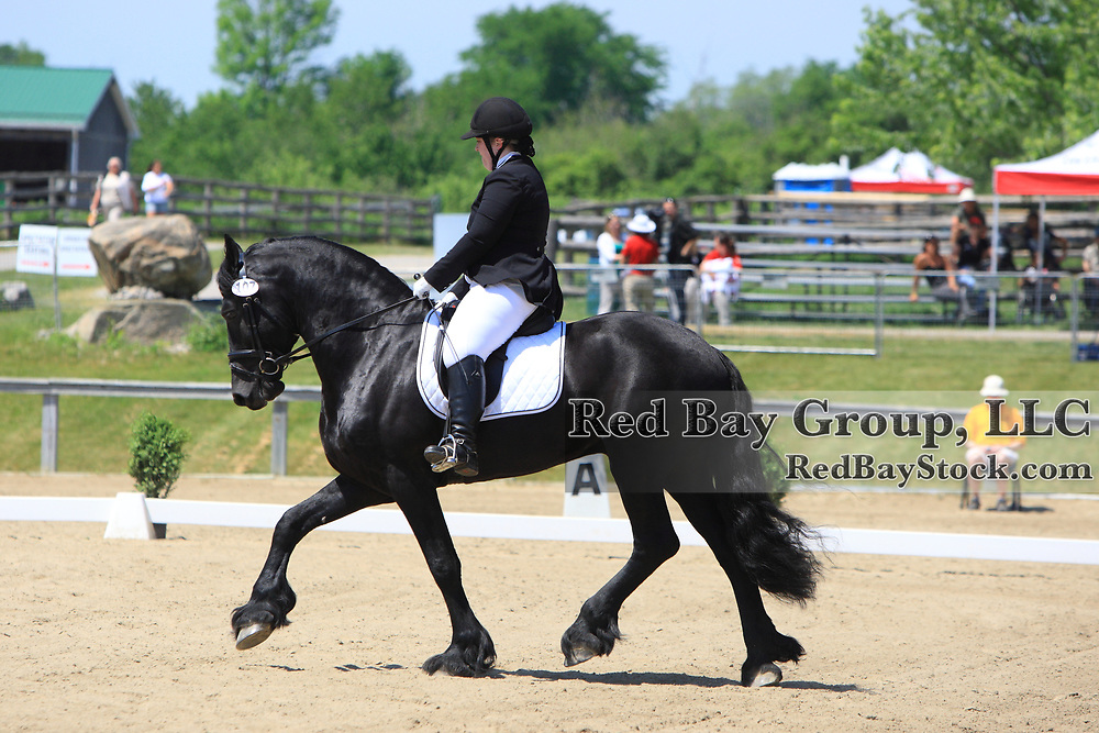 Laurie Oakleaf and Quimerico KF at the WindReach International Para-Dressage CPEDI3 star  in Ashburn, Ontario.