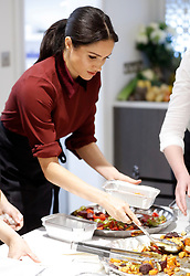 Meghan Markle, Duchess of Sussex visits the Hubb Community Kitchen in Kensington, London, UK, on the 21st November 2018. Picture by Chris Jackson/WPA-Pool. 21 Nov 2018 Pictured: Meghan Markle, Duchess of Sussex. Photo credit: MEGA TheMegaAgency.com +1 888 505 6342