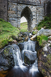 Bridge over stream, Keem Bay, Achill Island, County Mayo, Ireland