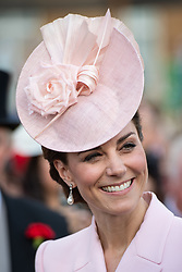 The Duchess of Cambridge attending the Royal Garden Party at Buckingham Palace in London.