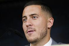 Real Madrid Unveil New Signing Eden Hazard - 13 June 2019