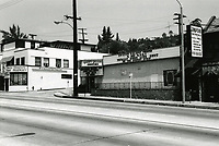 1973 Rogues Gallery Nightclub on Sunset Blvd.