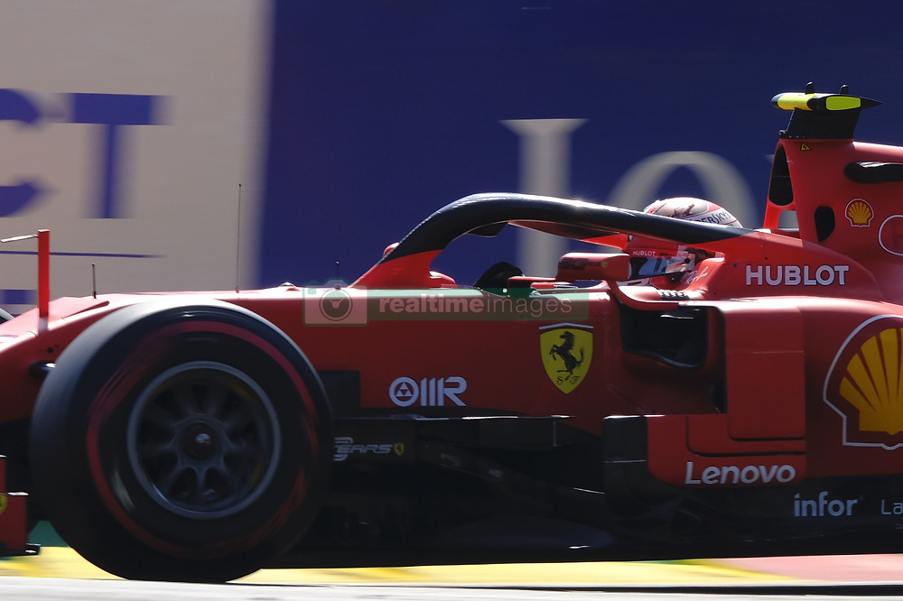 August 31, 2019, Spa Francorchamps, Belgium: Ferrari Driver CHARLES LECLERC (MC) in action during the third free practice session of the Formula one Johnnie Walker Belgian Grand Prix at the SPA Francorchamps circuit - Belgium (Credit Image: © Pierre Stevenin/ZUMA Wire)