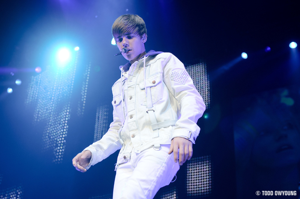 Photos of Justin Bieber performing at the Scottrade Center on November 8, 2010 in St. Louis, Missouri
