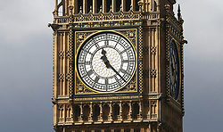 A general view of Elizabeth Tower, which houses Big Ben, at the House of Commons in Westminster, London, which will be silenced for several months as part of a £29 million programme to repair the clock face and mechanism as well as cracks in the towers masonry.