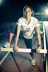 Gisele de Oliveira é pentacampeã brasileira e bi sul-americana no atletismo. Participou da olimpíada de Pequim e é um destaque no clube Sogipa, em Porto Alegre FOTO: Jefferson Bernardes/Preview.com