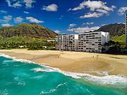 Papaoneone Beach, Waianae, Leeward, Oahu, Hawaii, USA