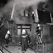 NLD/Zeist/19910201 - Uitslaande brand Dr.Catzlaan Zeist