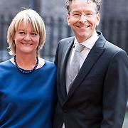 NLD/Den Haag/20170919 - Prinsjesdag 2017, Jeroen Dijsselbloem en partner Lea Bouwmeester