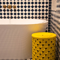 USA, California, Indian Wells. Bathroom Design at The Sands Hotel & Spa.