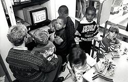 Infants school, Nottingham UK 1992