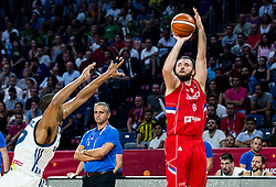 Milan Macvan of Serbia during the Final basketball match between National Teams  Slovenia and Serbia at Day 18 of the FIBA EuroBasket 2017 at Sinan Erdem Dome in Istanbul, Turkey on September 17, 2017. Photo by Vid Ponikvar / Sportida