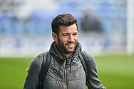 Rochdale Manager, Brian Barry-Murphy arrives at Fratton park during the EFL Sky Bet League 1 match between Portsmouth and Rochdale at Fratton Park, Portsmouth, England on 13 April 2019.