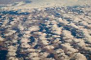 Cumulus clouds (cumulus humilis) over the high Colorado Plateau