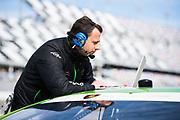 January 5-7, 2018. IMSA Weathertech Series ROAR before 24 test. Gottfried Grasser, Team Owner of Lamborghini GRT Racing