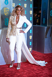 Mary J. Blige attending the 72nd British Academy Film Awards, Arrivals, Royal Albert Hall, London. Picture date: Sunday February 10th, 2019. Photo credit should read: Matt Crossick/ EMPICS Entertainment.