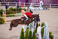 Balsiger Bryan, SUI, Twenty Two Des Biches, 381<br /> Olympic Games Tokyo 2021<br /> © Hippo Foto - Dirk Caremans<br /> 07/08/2021