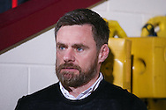 Scunthorpe United Manager Graham Alexander  during the EFL Sky Bet League 1 match between Scunthorpe United and AFC Wimbledon at Glanford Park, Scunthorpe, England on 28 February 2017. Photo by Simon Davies.