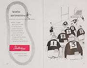 Irish Rugby Football Union, Ireland v France, Five Nations, Landsdowne Road, Dublin, Ireland, Saturday 26th January, 1957,.26.1.1957, 1.26.1957,..Referee- L M Boundy, ..Score- Ireland 11 - 6 France, ..Irish Team, ..P J Berkery, Wearing number 15 Irish jersey, Full back, Landsdowne Rugby Football Club, Dublin, Ireland,..A J O'Reilly, Wearing number 14 Irish jersey, Right Wing, Old Belvedere Rugby Football Club, Dublin, Ireland, ..N J Henderson, Wearing number 13 Irish jersey, Captain of the Irish team, Right centre, N.I.F.C, Rugby Football Club, Belfast, Northern Ireland, ..A C Pedlow, Wearing number 12 Irish jersey, Left centre, Queens University Rugby Football Club, Belfast, Northern Ireland,..N H Brophy, Wearing number 11 Irish jersey, Left wing, University College Dublin Rugby Football Club, Dublin, Ireland, ..J W Kyle, Wearing number 10 Irish jersey, Ouside Half, N.I.F.C, Rugby Football Club, Belfast, Northern Ireland, ..A A Mulligan, Wearing number 9 Irish jersey, Scrum Half, Cambridge University Rugby Football Club, Cambridge, England, and, London Irish Rugby Football Club, Surrey, England, ..P J O'Donoghue, Wearing  Number 1 Irish jersey, Forward, Bective Rangers Rugby Football Club, Dublin, Ireland, ..R Roe, Wearing number 2 Irish jersey, Forward, London Irish Rugby Football Club, Surrey, England, ..B G Wood, Wearing number 3 Irish jersey, Forward, Garryowen Rugby Football Club, Limerick, Ireland, ..T E Reid, Wearing number 4 Irish jersey, Forward, Garryowen Rugby Football Club, Limerick, Ireland, and, London Irish Rugby Football Club, Surrey, England, ..J R Brady, Wearing number 5 Irish jersey, Forward, C I Y M S Rugby Football Club, Belfast, Northern Ireland, ..H S O' Connor, Wearing number 6 Irish jersey, Forward, Dublin University Rugby Football Club, Dublin, Ireland,..P J A O'Sullivan, Wearing  Number 7 Irish jersey, Forward, Galwegians Rugby Football Club, Galway, Ireland,..J R Kavanagh, Wearing number 8 Irish jersey, Forward, Wanderers Rugby Football