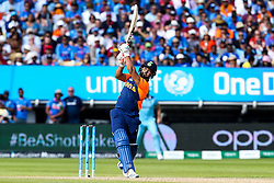 Rishabh Pant of India goes on the attack - Mandatory by-line: Robbie Stephenson/JMP - 30/06/2019 - CRICKET - Edgbaston - Birmingham, England - England v India - ICC Cricket World Cup 2019 - Group Stage