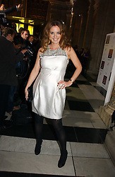DAISY DONOVAN at the British Fashion Awards 2006 sponsored by Swarovski held at the V&A Museum, Cromwell Road, London SW7 on 2nd November 2006.<br /><br />NON EXCLUSIVE - WORLD RIGHTS
