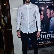 London, England, UK. 23 January 2018. Blake Harrison Arrivers at Beginning - press night at Ambassadors Theatre.