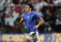 Fotball<br /> 01.03.2006<br /> Italia v Tyskland<br /> Foto: Graffiti/Digitalsport<br /> NORWAY ONLY<br /> <br /> Italy forward Luca Toni celebrates after scoring