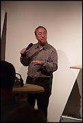 GARY STEVENS, Matt's Gallery 35th birthday fundraising supper.  42-44 Copperfield Road, London E3 4RR. 12 June 2014.